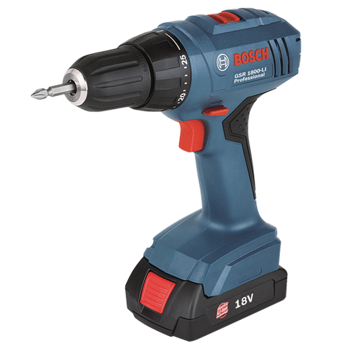 Bosch Gsr1800li C Less Drill 18v 1 3ah Apple Tool Amp Gas